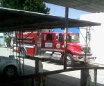 Auxilia PC a heridos  en camión de Bomberos