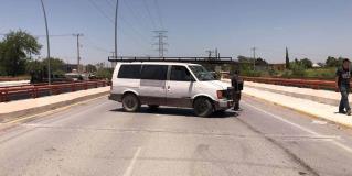 Reportan bloqueos este mediodía en Reynosa