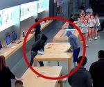 Roban 27 mil dólares en una Apple Store de California