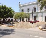 Demanda diputado electo transparentar recursos de obra y el respeto de áreas verdes en camellón