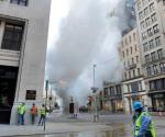 Evacuan 49 edificios por explosión en Nueva York