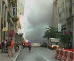 Evacuan una zona de Manhattan debido a la explosión de una tubería de vapor