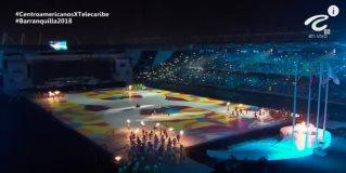 Inauguración de los Juegos Centroamericanos y del Caribe 2018