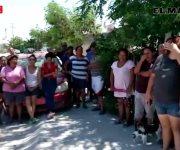 Colonos de  Puerta Sur demandaron la intervención de COMAPA para terne agua