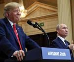 Defiende Trump trato con Putin