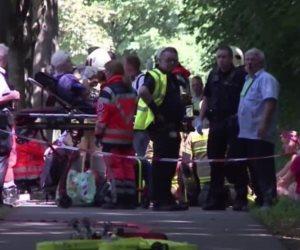 Ataque con cuchillo en un autobús deja más de 10 heridos en Alemania