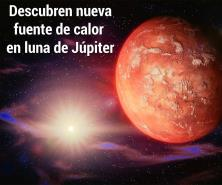 Descubren posible volcán en luna de Júpiter