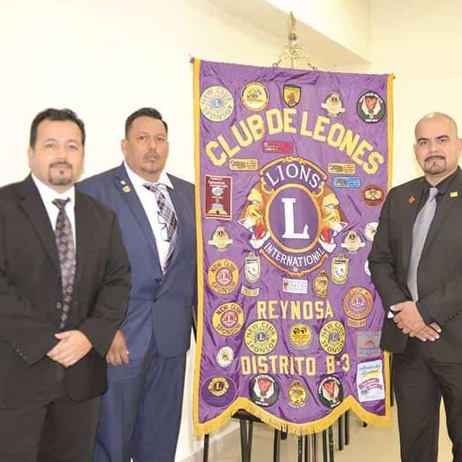 DIRECTIVA. Reymundo Flores, Víctor Hugo Cantú y Nestor Valencia.