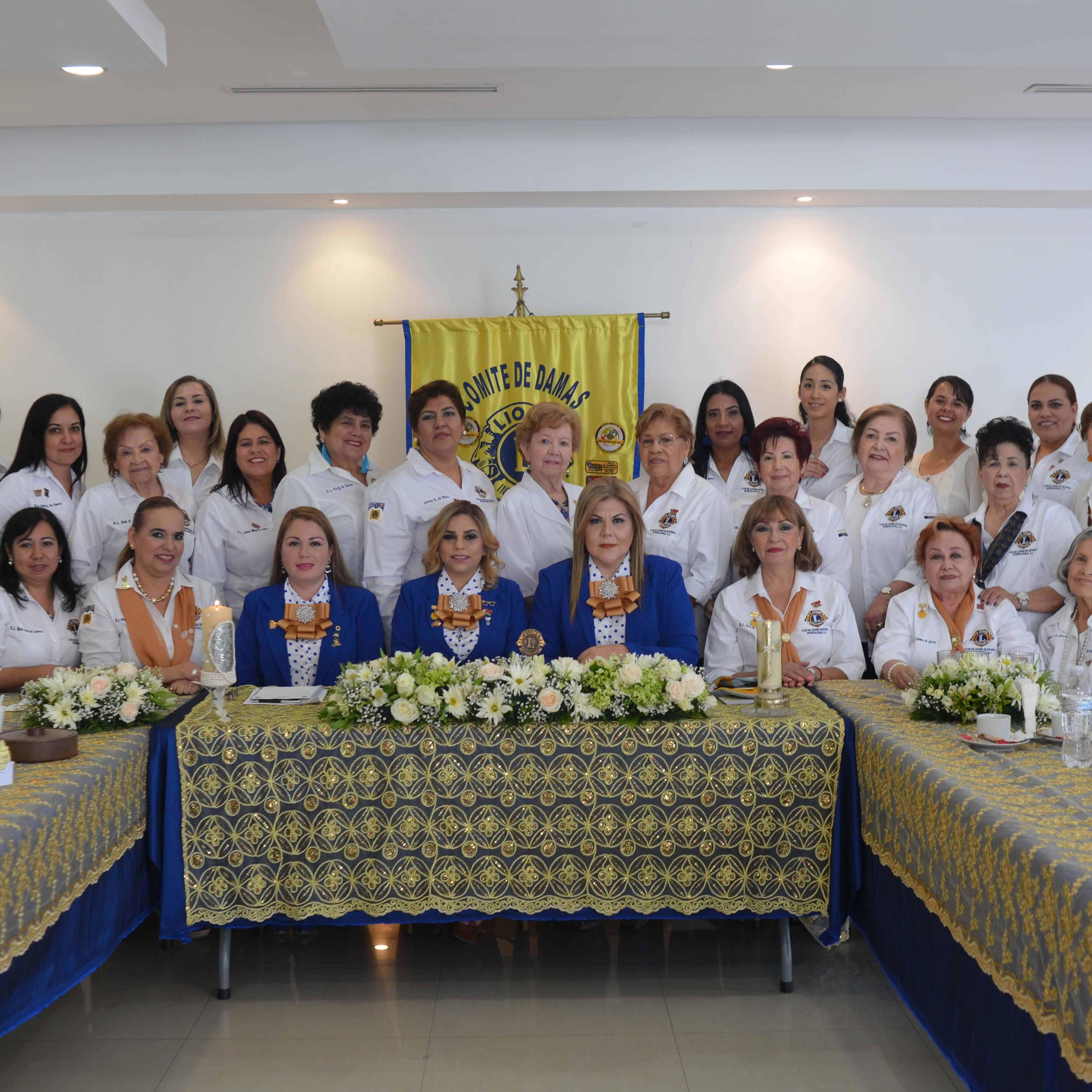 PRIMER JUNTA. Comité de Damas del Club de Leones de Reynosa Internacional A.C.