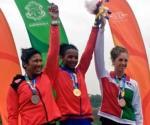 Naiara Arrillaga obtiene bronce en par de remos cortos femenil