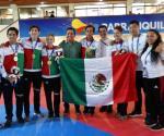 México arrasa en taekwondo