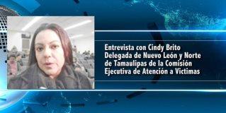 Cindy Brito Delegada de Nuevo León y Norte de Tamaulipas de la Comisión Ejecutiva de Atención a Víctimas