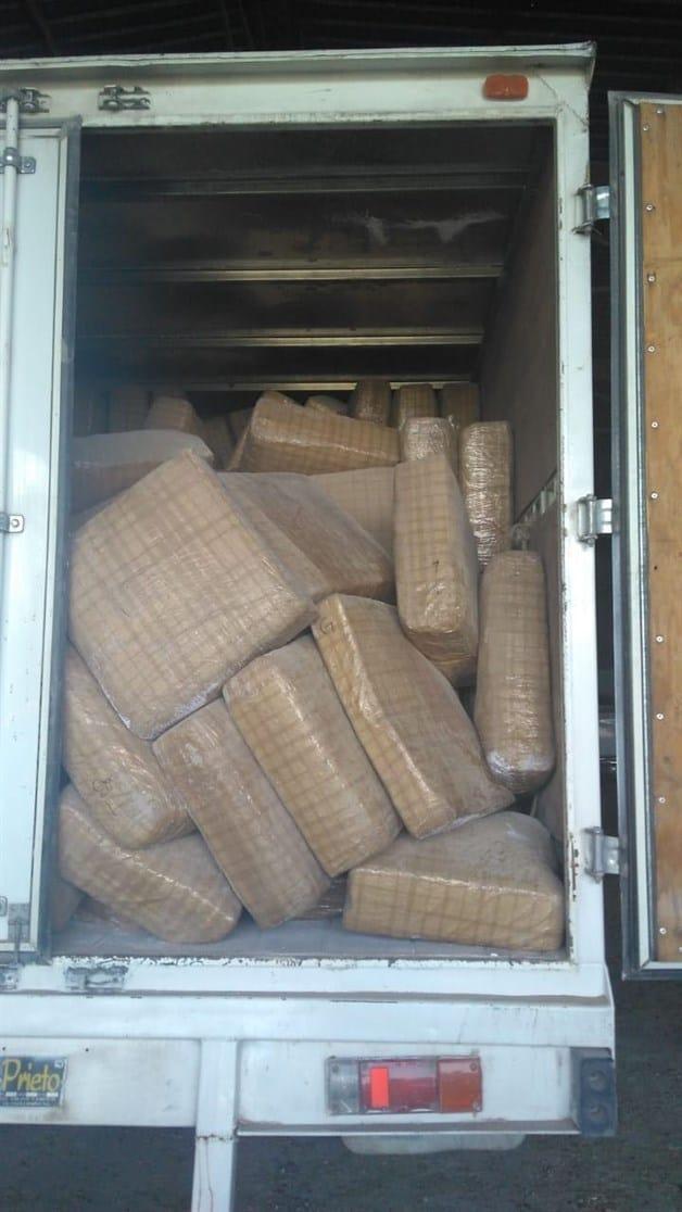 VALLE HERMOSO: Aseguran alrededor de 3 toneladas y media de yerba