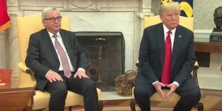 La UE y EEUU firman una tregua en la guerra comercial