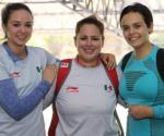 Equipo mexicano femenil de tiro logra bronce en rifle tendido