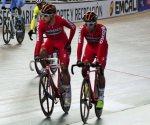 Dupla mexicana gana oro en prueba de Madison ciclismo de pista