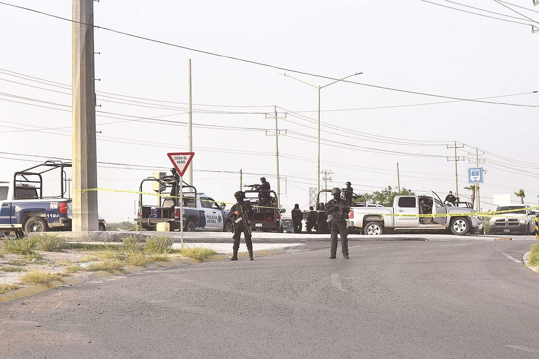 Escapan. Los tripulantes armados de ambas unidades lograron escapar antes de que llegaran las autoridades.