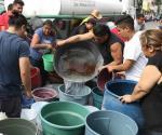 Por onda de calor se genera escasez de agua en la CDMX