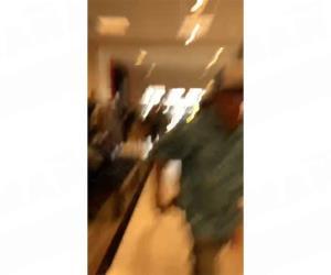 Momentos de pánico del tiroteo en la Plaza Mall, en McAllen