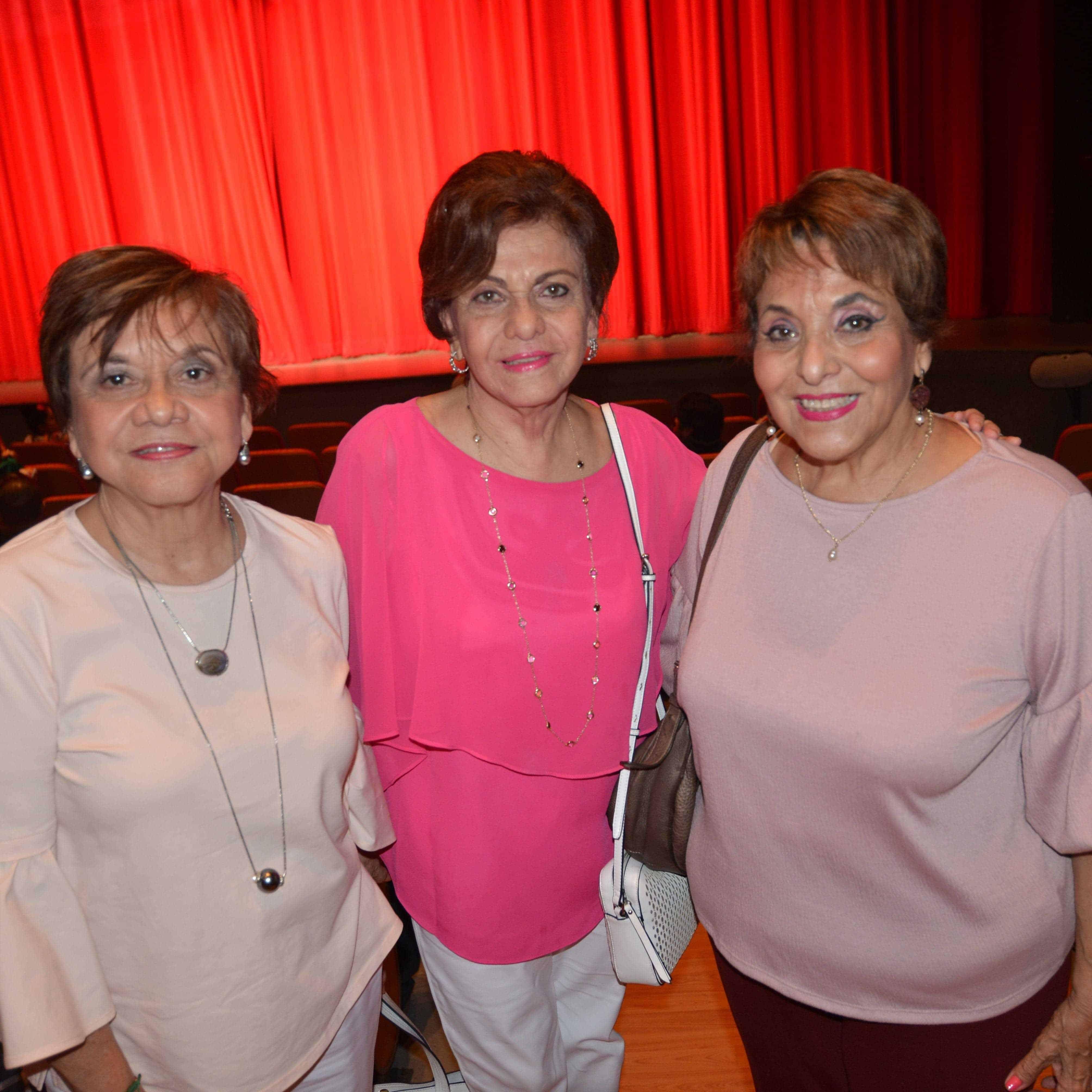HERMANAS. Irma, Leticia y Rosalva Terán.