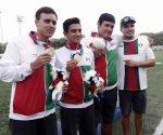 México también gana oro en varones por equipo arco compuesto
