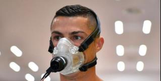 Cristiano Ronaldo entrena con la Juventus