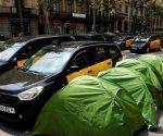 Tres arrestos deja huelga de taxis en España