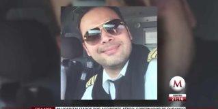 ¿Quién es el piloto del vuelo siniestrado de Aeroméxico?