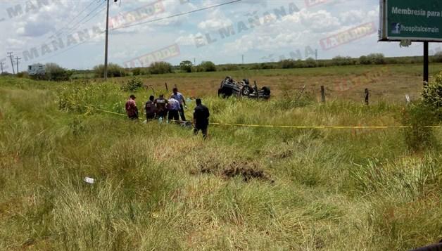 🎥 Fatal volcadura: 2 muertos y 9 heridos