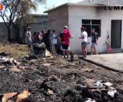 6 casas afectadas tras incendio