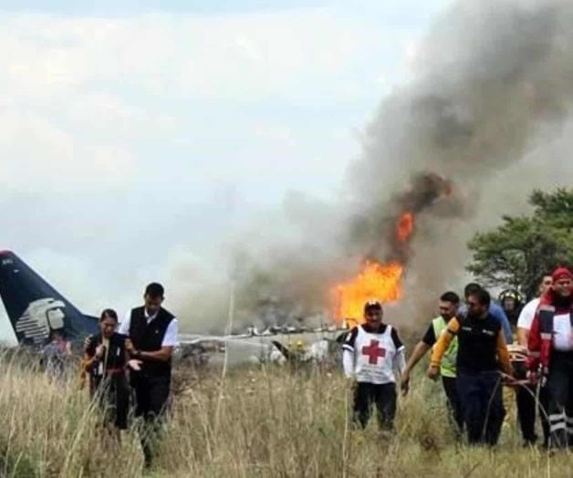 Mandan a EUA caja negra dañada en accidente aéreo