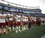Jugadores de la NFL responden a Trump