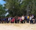 Llegan migrantes a EU...y por grandes grupos