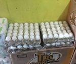 Nuevo aumento al huevo, $46 por tapa