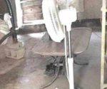 Quema casa cortocircuito en ventilador