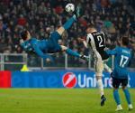 La chilena de Cristiano Ronaldo, elegido mejor gol de la temporada