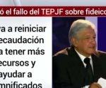 AMLO celebra el fallo del TEPJF sobre fideicomiso
