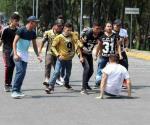 Agreden a jóvenes que marchaban en Ciudad Universitaria