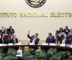Avala INE proceso para pérdida de registro del PES y Nueva Alianza
