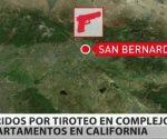 10 heridos en un tiroteo en un complejo de apartamentos en California