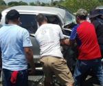 Arroja tres heridos carreterazo en la Tampico-Tuxpan
