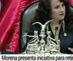 Morena presenta iniciativa para retirar fuero