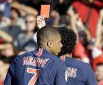 Mbappé recibe suspensión de tres partidos por su expulsión
