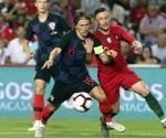 Nada para nadie entre Portugal y Croacia; empatan 1-1