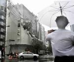 Deja 11 muertos tifón más potente que azota a Japón