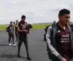 La Selección Mexicana llega a Nashville