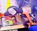 Detiene policía a presunto asaltante serial de tiendas