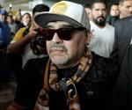 Vecinos de fraccionamiento niegan acceso a mudanza de Maradona
