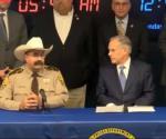 Greg Abbott en reunión por la seguridad de Texas en McAllen