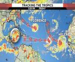 Triple amenaza ciclónica